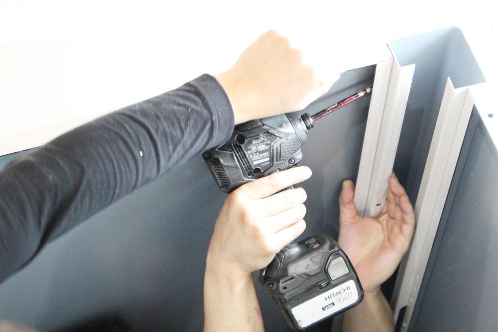 小荷物専用昇降機 設置の流れ3