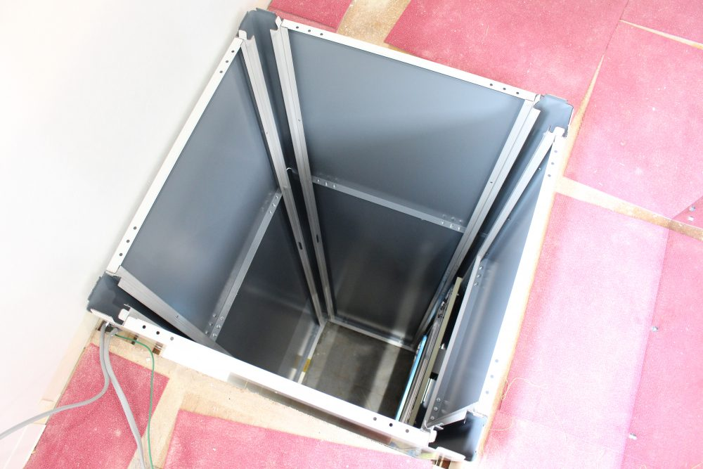 小荷物専用昇降機 設置の流れ4