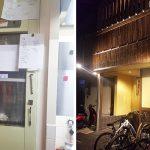 ダムウェーターを創作串カツ店に設置|兵庫県西宮市