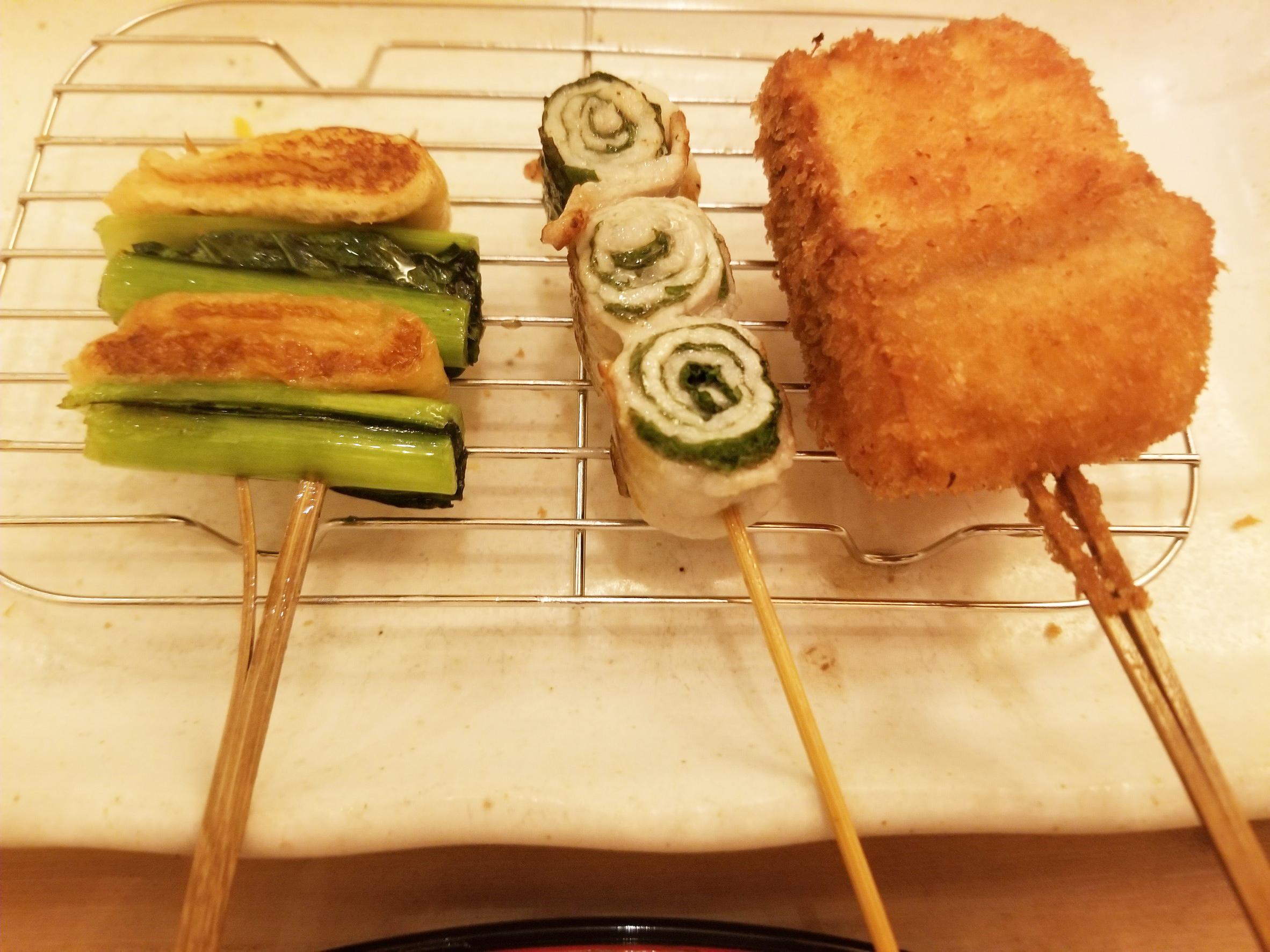 串カツ・串焼き2