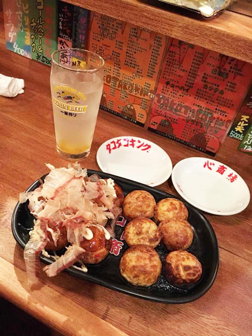 大たこ焼(ソース・しお)