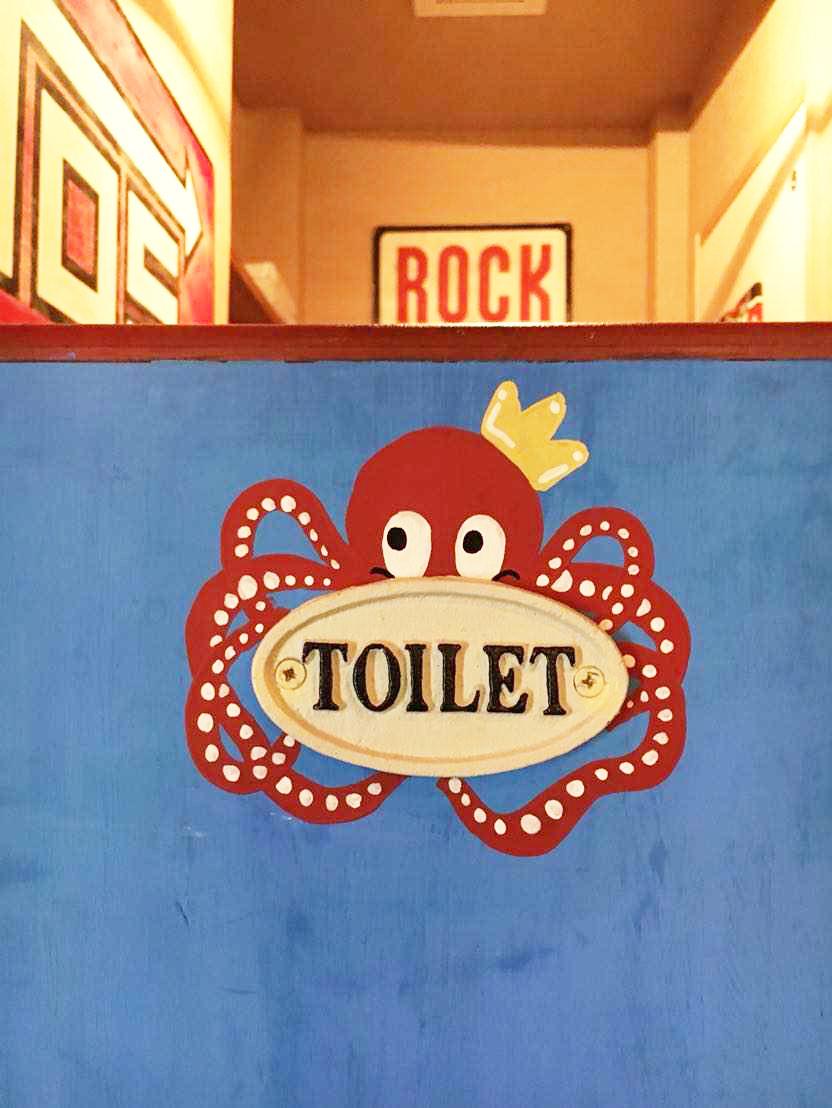 タコタコキングのトイレ