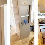 ダムウェーター(小荷物専用昇降機)を海鮮居酒屋に設置|千葉県船橋市