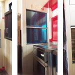 ダムウェーター(小荷物専用昇降機)を中華料理店に設置|岡山県岡山市